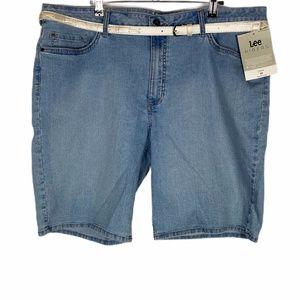 Lee Riders Midrise Bermuda Jean Shorts